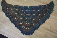 Simple Sequin Shawl