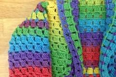 Rainbow Beach Flutter Baby Sweater