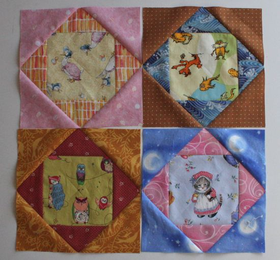 Sew.Quilt.Give. Bee Blocks