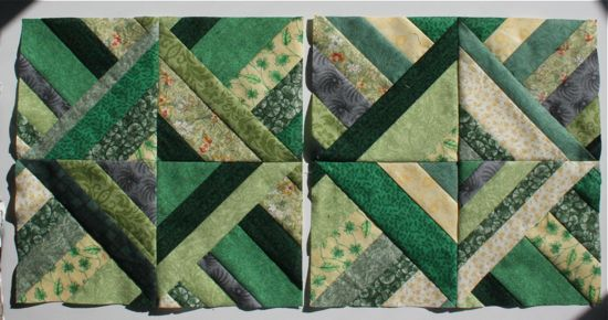 October Bee Blocks