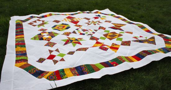 Bloggers' BOM Quilt Almost Done!